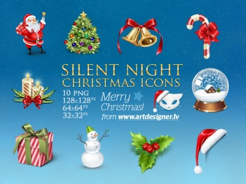 Silent Night Icons